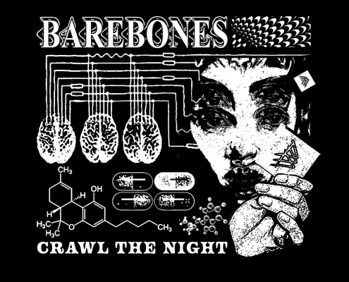 Bare Bones – Crawl The Night single