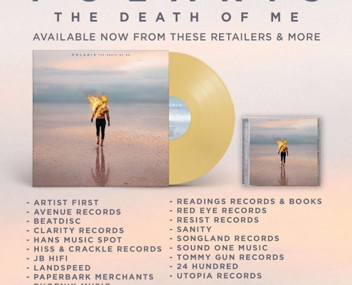 "Polaris ""The Death Of Me"" out now"