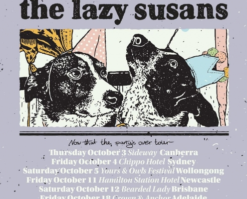 The Lazy Susans announce new track and tour