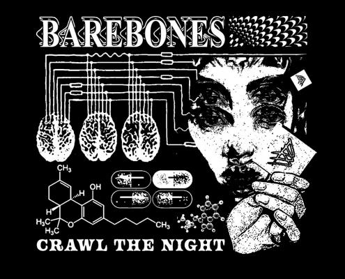 Bare Bones – Crawl The Night single